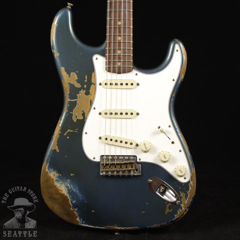 Fender Custom Shop 60s Stratocaster Heavy Relic Super Faded Lake Placid Blue