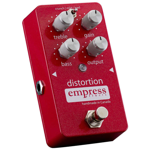 Empress Distortion Pedal