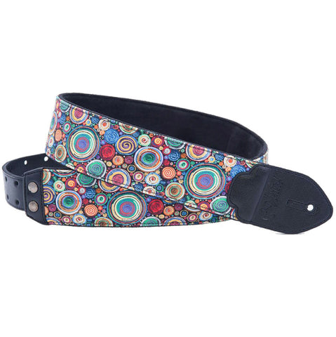 RightOn! Funky Bubbles Special Guitar Guitar Strap