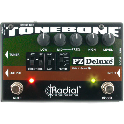 Radial ToneBone PZ-Deluxe Acoustic Instrument Preamp