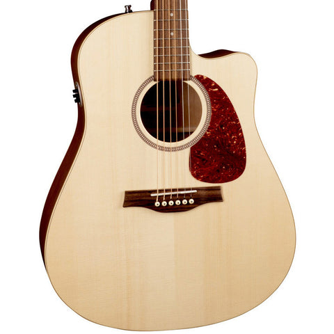 Seagull Entourage CW QIT Wild Cherry Solid Spruce Natural