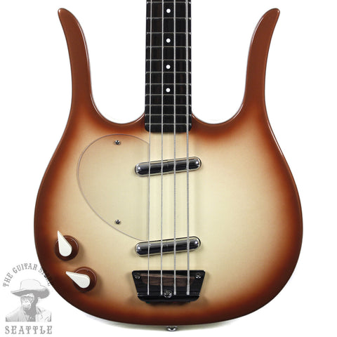 Danelectro Left-Handed Longhorn Bass Copperburst