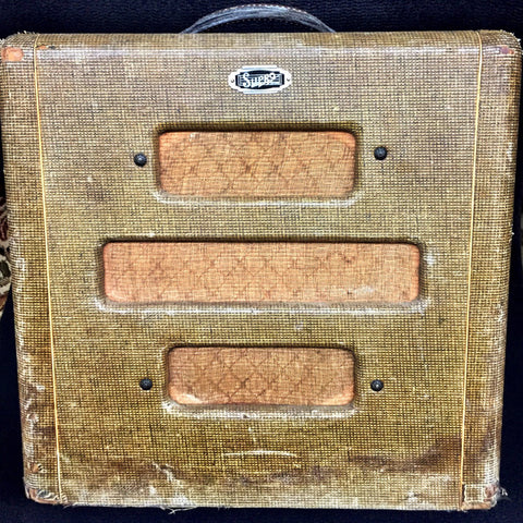 "Used 1947 Supro Supreme 1x10"" Combo Tweed"