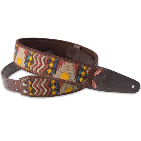 RightOn! Mojo Azteca Unic Guitar Strap