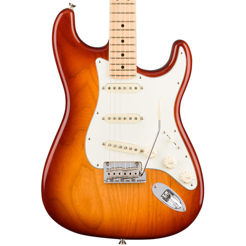 Fender American Pro Stratocaster Maple Fingerboard Sienna Sunburst Electric Guitar