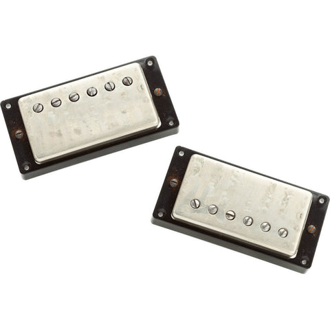 Seymour Duncan Antiquity Humbucker Pickup Set Aged Nickel