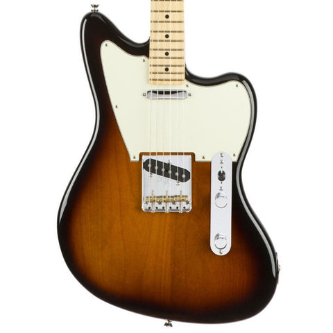 Fender Limited Edition American Standard Offset Telecaster Maple Fingerboard Two Tone Sunburst Electric Guitar 0171504703