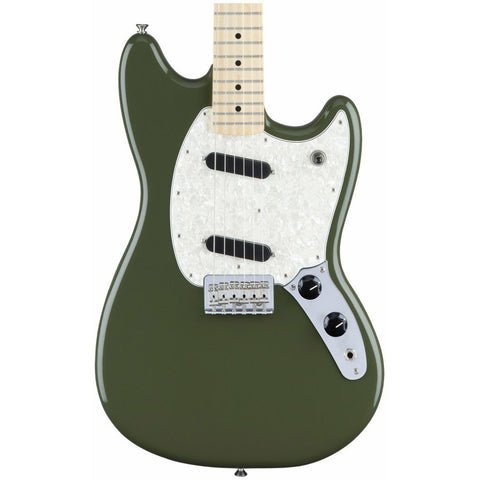 Fender Mustang Electric Guitar - Olive 0144042598