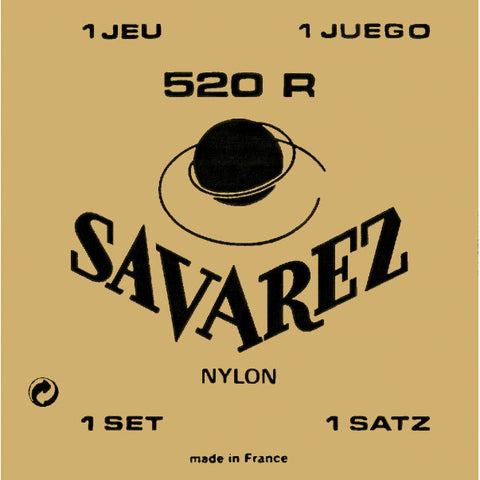 Savarez 520R Normal Tension Classical Guitar Strings