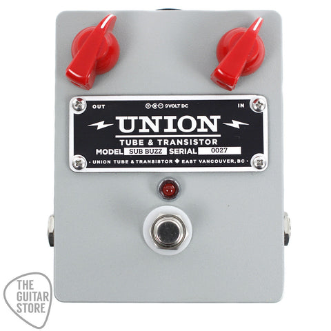 Union Tube & Transistor Sub Buzz Bass Fuzz