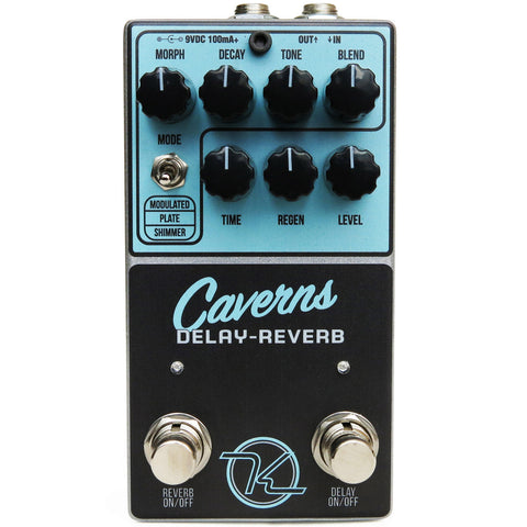 Keeley Caverns Reverb Delay Pedal B-Stock