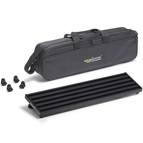 Aclam Smart Track S1 Black Pedal Board with Soft Case