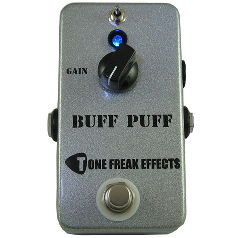 Tone Freak Buff Puff Boost Pedal