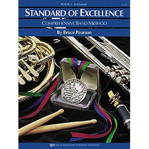 Standard of Excellence Trumpet & Coronet Book 2