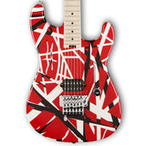 EVH Striped Series Red/Black/White Electric Guitar 5107902503