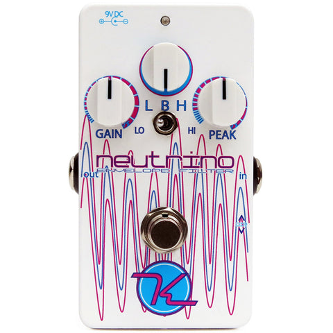 Keeley Neutrino Optocoupler Based Envelope Filter/Auto Wah Pedal B-Stock
