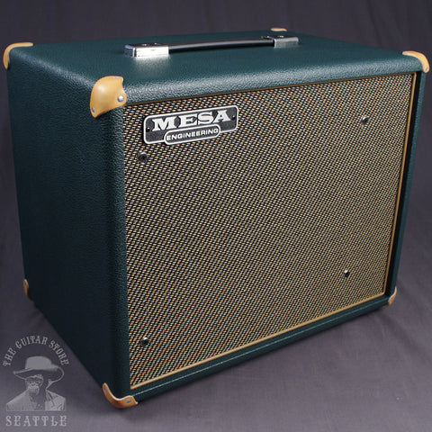 Mesa Boogie Compact 1x12 Thiele Front Ported Speaker Cabinet Emerald Bronco Gold Jute