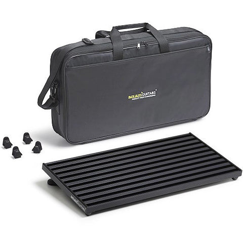 Aclam Smart Track S2 Black Pedal Board with Soft Case