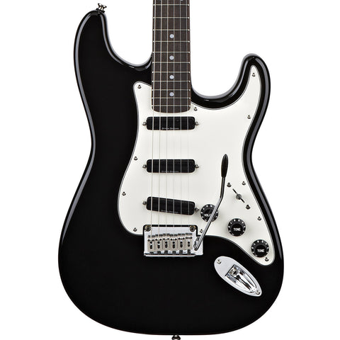 Squier Deluxe Hot Rails Strat Black 0300510506