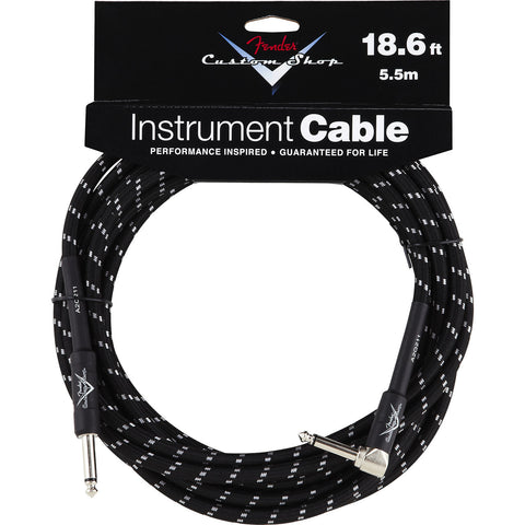 Fender Custom Shop Performance Series 18.6 Foot Instrument Cable Straight-Right 0990820038