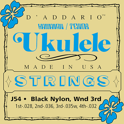 D'Addario J54 Tenor Ukulele Strings