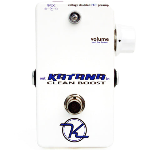 Keeley Katana Boost Pedal B-Stock