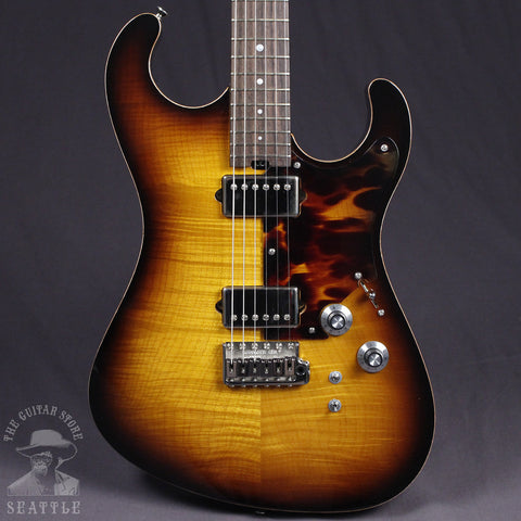 Asher S Custom Tobacco Burst