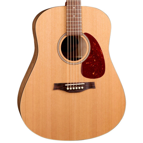 Seagull S6 Original Wild Cherry Cedar Natural Semi-Gloss Acoustic with Gig Bag