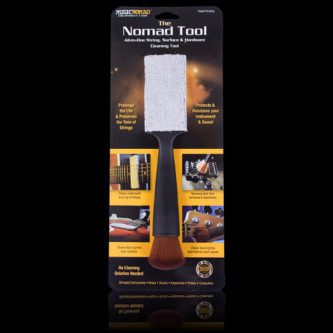 Music Nmoad The Nomad Tool All in 1 String, Body & Hardware Cleaning Tool