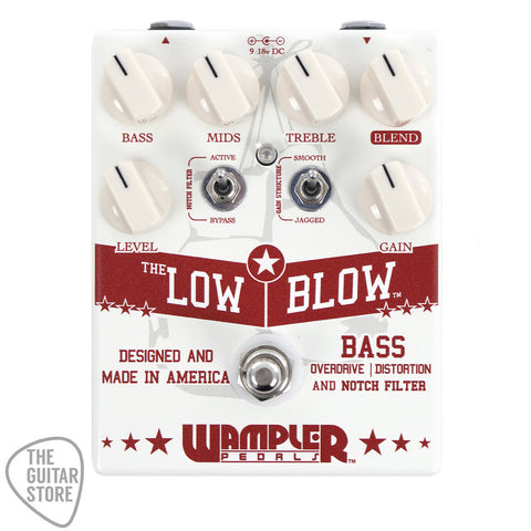 Wampler Low Blow Bass Overdrive & Distortion