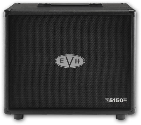 EVH 5150 III 1x12 Straight Guitar Speaker Cabinet Black 2253100010