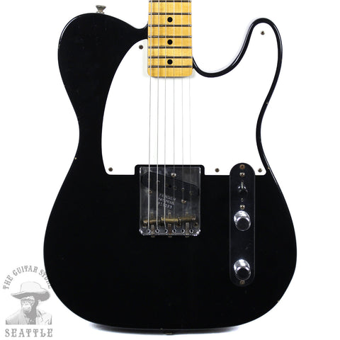 Fender Custom Shop Limited Full Throttle Esquire Journeyman Relic Black 9235102806