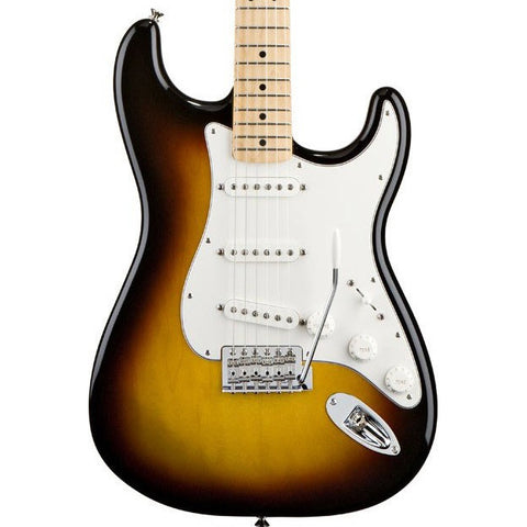Fender Standard Stratocaster Maple Brown Sunburst 0144602532