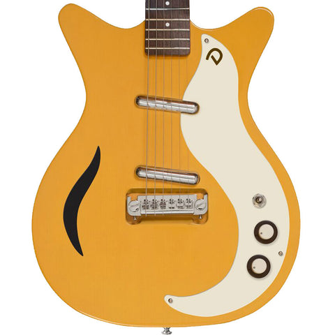 Danelectro '59 Spruce Semi-Hollowbody Buttercup Electric Guitar