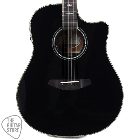 Breedlove Stage Dreadnought Mahogany Sitka Black Magic Acoustic Guitar