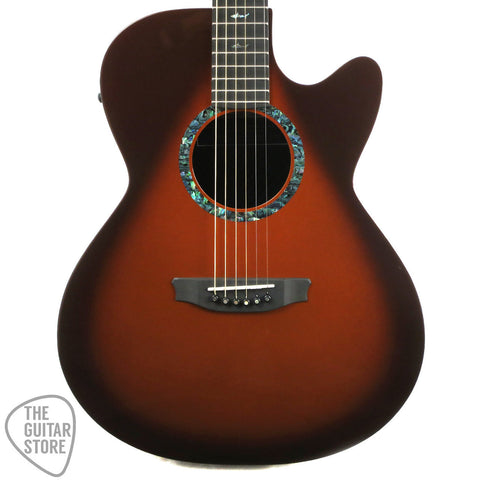 RainSong Concert CO-WS1000N2T Acoustic-Electric Guitar - Tobacco Burst