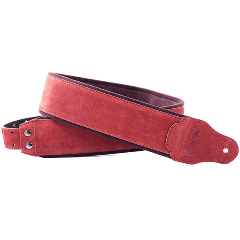 RightOn! Jazz Suede Woody Guitar Strap