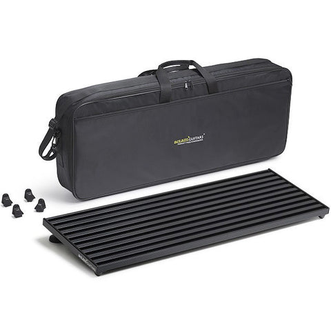 Aclam Smart Track L2 Black Pedal Board with Soft Case