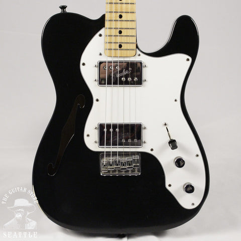 Used 1977 Fender Thinline Telecaster Black