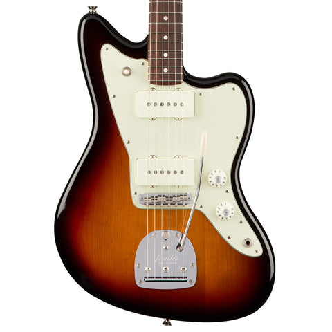 Fender American Pro Jazzmaster Rosewood Fingerboard Three Tone Sunburst Electric Guitar