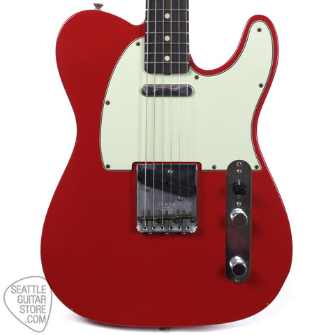 Fender Custom Shop '59 Telecaster Journeyman Dakota Red 9230100854