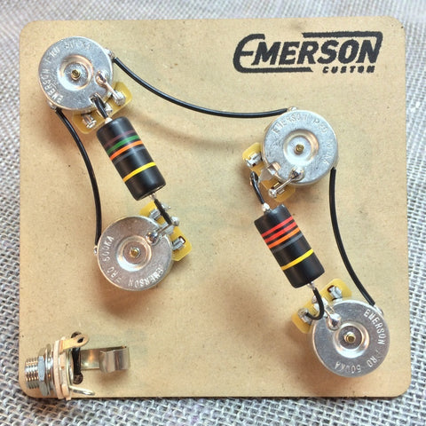 Emerson Four Knob Prewired Kit For PRS Guitars