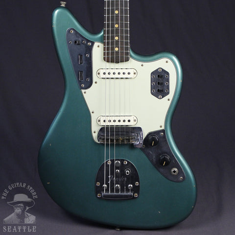 Fender Custom Shop Journeyman Relic 1963 Jaguar Faded Sherwood Green 9235000320