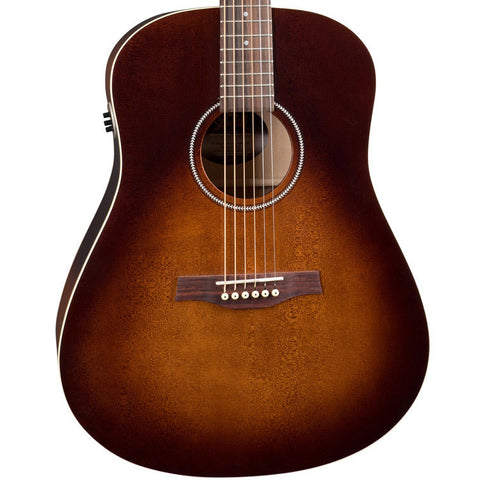 Seagull S6 Original QIT Burnt Umber Acoustic-Electric