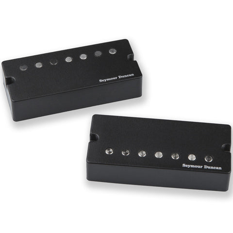 Seymour Duncan Jeff Loomis Blackouts 7 String Active Mount Set Humbucker Guitar Pickups