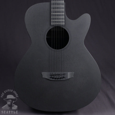 Rainsong Smokey SMH Hybrid Acoustic-Electric Guitar Dark Satin