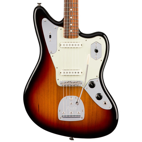 Fender American Pro Jaguar Rosewood Fingerboard Three Tone Sunburst Electric Guitar