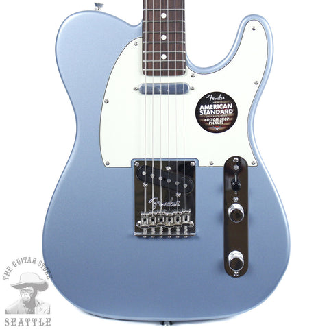 Fender Limited Edition Magnificent Seven American Standard Telecaster Ice Blue Metallic Electric Guitar 0170801783