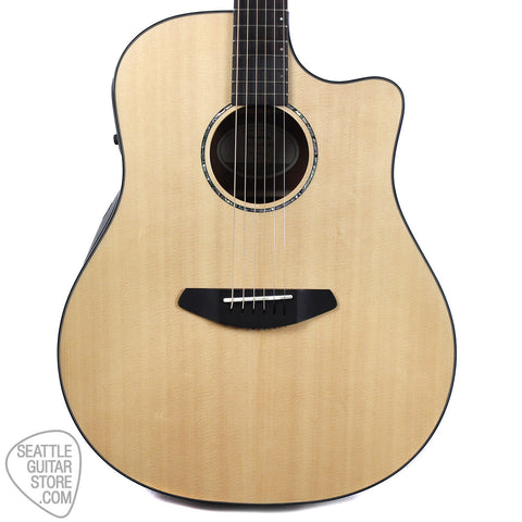 Breedlove Solo Dreadnought Mahogany Sitka Acoustic-Electric Guitar