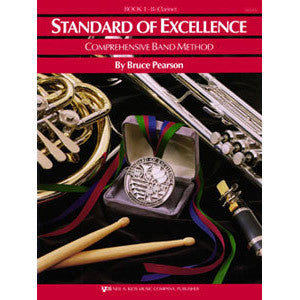 Standard of Excellence Trumpet & Cornet Book 1
